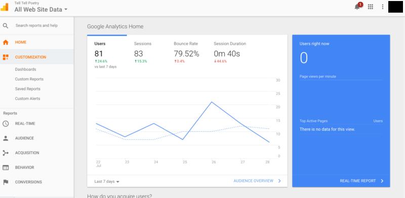 Google Analytics nos da un diagnóstico completo