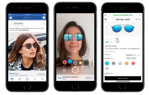 Anuncios de Facebook con realidad aumentada