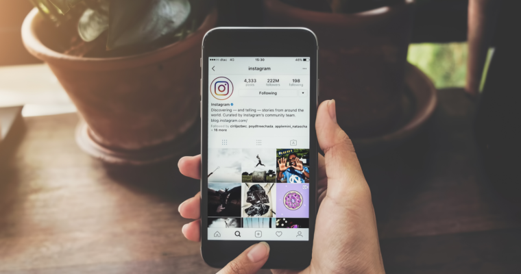 Transparencia de información en Instagram