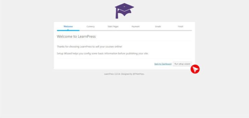 LearnPress, puedes tenerla si tienes WordPress