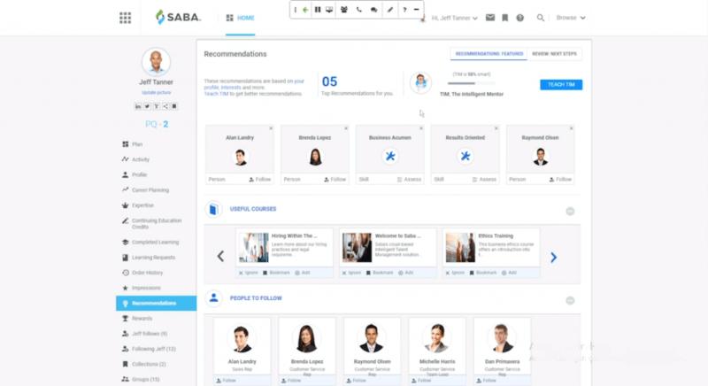 Saba Learning Suite, te facilita evaluaciones y encuestas