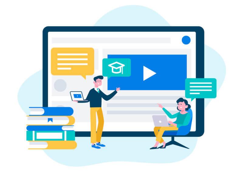 ¿Qué son las plataformas e-learning?