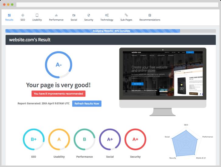 SEOptimer, la herramienta que analiza el Onpage de tu sitio web