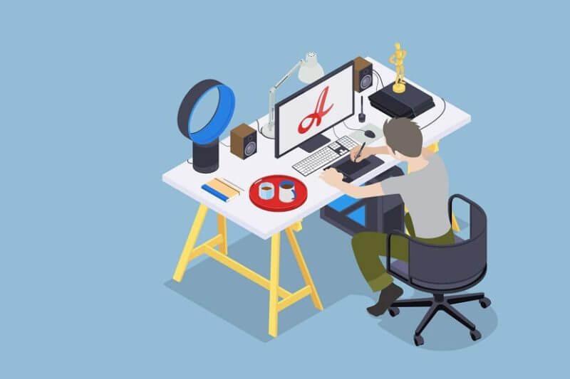 El diseñador gráfico también está siendo solicitado por nuevos emprendimientos