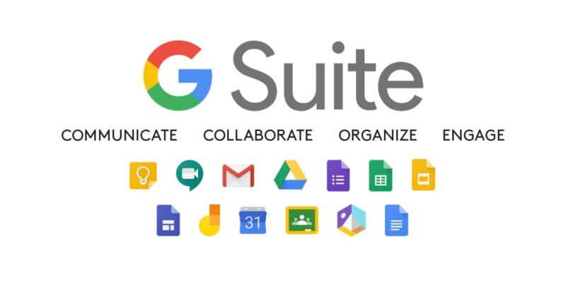 G. Suite, unas de las herramientas de marketing digital más utilizadas