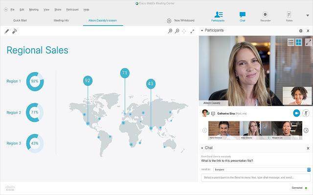 WebEx, perfecta para realizar seminarios, conferencias y más