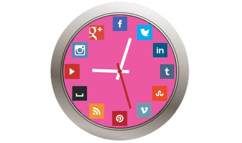 Define el horario de tus publicaciones