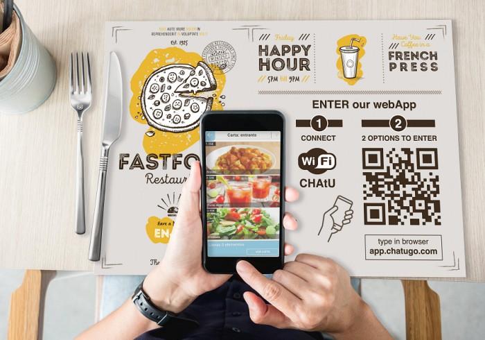 Publicar tus promociones y la carta de platos en tu sitio web