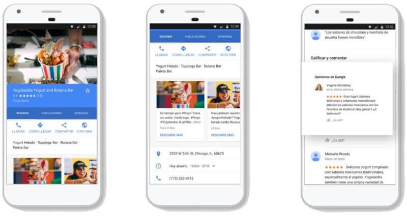 Mejorar la ficha de Google My Business para mejorar tu negocio