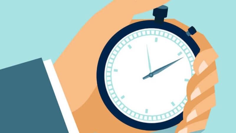 El tiempo de espera es vital para actuar eficazmente