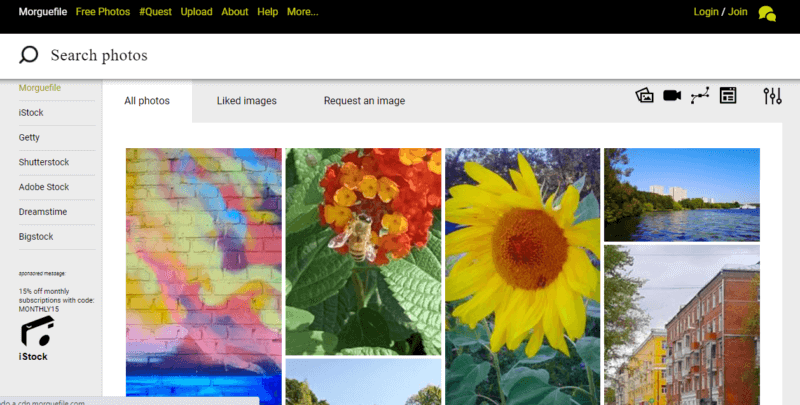 Morguefile, cuenta con más de 12 millones de imágenes gratis