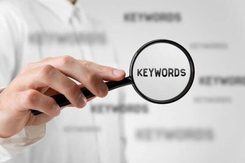Encontrar las fuentes de palabras clave
