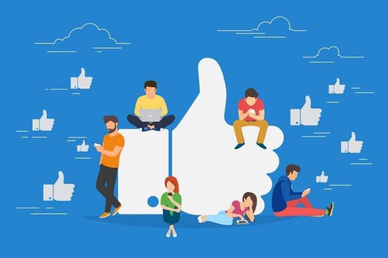 Participa en grupos de Facebook