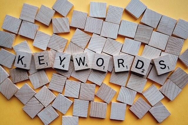 investigación de keywords